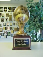"Fantasy Football Trophy Life Size 24 Year Perpetual Award 17 1/2"" Tall *"