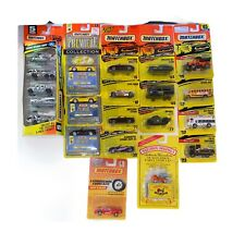 Lot Of 21 Vintage Matchbox Cars . Trucks, Military All New Sealed Die Cast