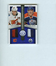 RYAN NUGENT-HOPKINS/GLENCROSS 2013-14 TOTALLY CERTIFIED COMPETITORS JERSEY SP/50