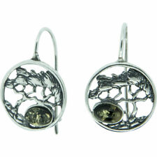 Tree Amber Earrings Assorted Colors