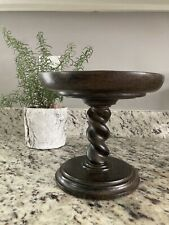 Southern Living at Home Barley Twist Pedestal Candle Cake Stand #40513 EUC