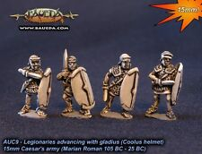 Baueda - Legionaries advancing Coolus helmet (8 foot) - 15mm