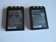 2x Original-Akku Olympus LI-10B für div. Camedia oder Stylus, usw.