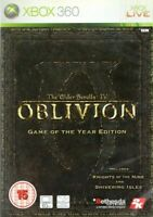 Oblivion - Elder Scrolls 4 IV - Game of the year edition Xbox 360 Brand New DVD