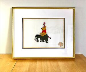 Vintage Winnie The Pooh Blustery Day 1968 Limited Edition Serigraph Walt Disney