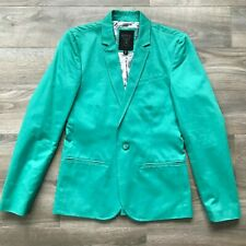 GUESS Men's Teal 2-Button Blazer Sports Coat - Size XS
