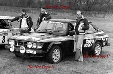 Stig Blomqvist & Hans Sylvan Saab 99 Turbo RAC Rally 1978 Photograph 1