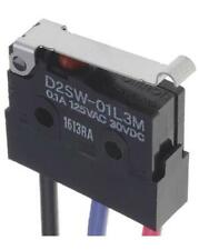 1 x Omron D2SW-01L3M SPDT-NO/NC Simulated Roller Lever Microswitch 100mA @ 30Vdc