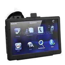 """7"""" HD Car Vehicle GPS Navigation Navigator Touch Screen Bluetooth 128MB 4GB 4PH9"""
