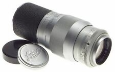 4/135mm HEKTOR LEITZ M39 SCREW MOUNT f=13.5cm RANGE FINDER CAMERA LENS LEICA CAP