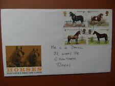fdc  Horses (4),  addressed, 5th July 1978 .