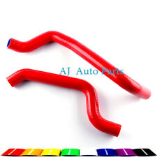 Red For Mitsubishi 3000GT Dodge Stealth 1991-1999 Silicone Racing Radiator Hose