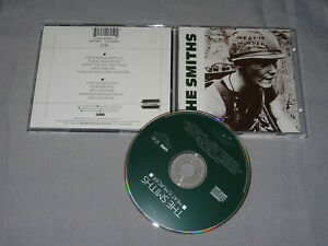 THE SMITHS - MEAT IS MURDER / GERMANY-CD & PR-COPY STICKER