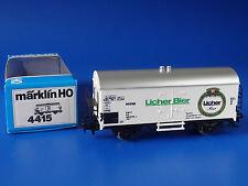 MÄRKLIN - 4415 - Bierwagen: Licher Bier - KOLL N° 81018 / OVP