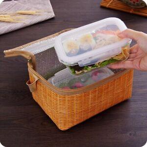 Handheld aluminum foil insulated food container