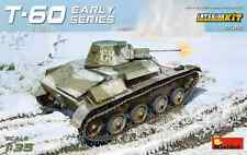 Miniart 1/35 T-60 Tank WWII Early Series w/Interior  #35215 *Sealed*nEW release*