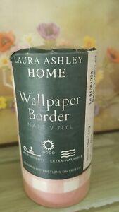 Vintage Laura Ashley wallpaper border Patchwork Hearts