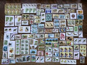 Collection Of Africa Stamps Kiloware