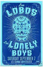 Los Lobos / Los Lonely Boys 2013 Portland Concert Tour Poster-Chicano Latin Rock