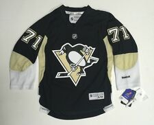 New Pittsburgh Penguins Malkin #71Official Reebok Youth Hockey Jersey size SM