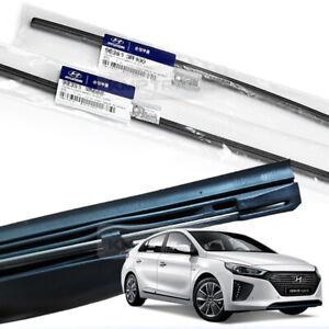 OEM Genuine Parts Windshield Wiper Blade Rubber LH+RH for HYUNDAI 2016-19 Ioniq