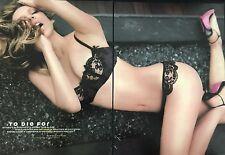 Natasha Alam (True Blood) 4pg MAXIM magazine feature, clippings