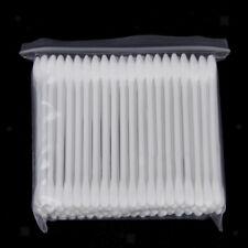 Lot 100pcs Coton-Tige Applicateur Outil Maquillage Nettoyage Extension de cils