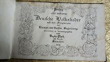 Fünfzig alte und neue Deutsche Volkslieder 1836
