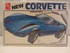 AMT / ERTL New Corvette Convertible Model Kit NIB  VGC 1:25 scale  (217H) T460