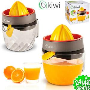 Exprimidor eléctrico para naranjas y cítricos de 30 W Tambor de 1200ml BPA Free