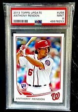 2013 TOPPS UPDATE ANTHONY RENDON PSA 9 MINT RC #US8 ANGELS🔥FREE SHIPPING🔥