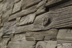 MUSTERSTEIN zu Riemchen, Wandverkleidung, Fassadenstein Eichenholzimitation