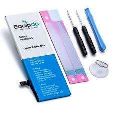 Ersatz Akku für iPhone 6 ZUVERLÄSSIGE Batterie mit 1810mAh + Werkzeug - Equipdo