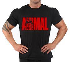 "T-shirt Bodybuilding Fitness Palestra "" Animal New 2020 Red''"