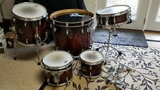 Gretsch Renown 5-Piece Drumset with Hardware, Cherry Burst, Used
