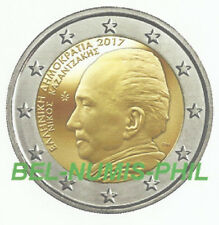 GRIEKENLAND I 2017 - 2 Euro - Nikos Kazantzakis -60e overlijdensjaar/décès - UNC