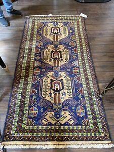 Unique Handmade Wool Afghani Carpet