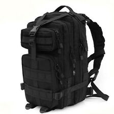 Black Military Utility Tactical Survival MOLLE Backpack Camping Wargame #232
