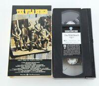The Wild Bunch Sam Peckinpah VHS Tape Western Ernest Borgnine Robert Ryan Movie