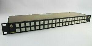 Evertz Quartz CP-3201 Router Control Panel 40 Illuminated Pushbuttons