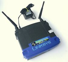 LINKSYS WRT54GS V5 Wireless-G Broadband Router with SpeedBooster 54Mbps 2.4GHz