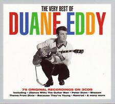 THE VERY BEST OF DUANE EDDY - 75 ORIGINAL RECORDINGS (NEW SEALED 3CD)