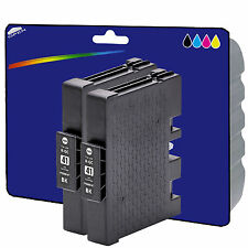 2 Black RC41 non-OEM Ink Cartridges for Ricoh SG3100SNW SG3110DN SG3110DNW