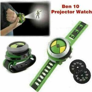 Ben10 Ten Alien Force Projector Watch Omnitrix Illumintator Bracelet Toy for Kid