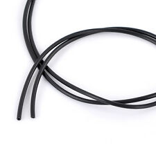 "10M Length Rubber HOT Cord Hollow Black 2.5mm(1/8"") Dia"