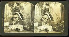 Imperial Series photo stéréo femmes aux pastèques costumes Making free with Prop