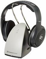 Sennheiser On Ear Wireless Headphones With Charging Dock - Black (RS120)