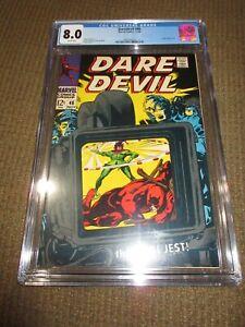 Daredevil #46 Silver age CGC 8.0 VF Beauty Wow JP