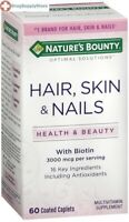 Nature's Bounty Multi Skin Hair Nail Tab 60ct