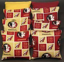 Florida State Seminoles Ncaa 8 Cornhole Bean Bag Game